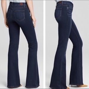 Paige high rise bell canyon jeans in dream catcher